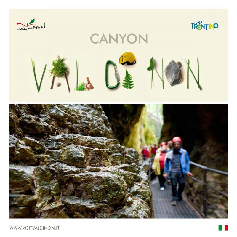 I canyon della Val di Non