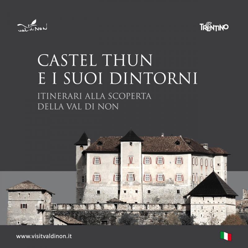 Cartina Castel Thun e dintorni