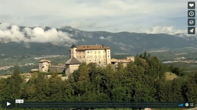 Il Trentino dei castelli